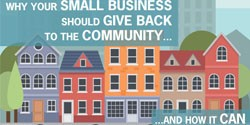 WHY YOUR SMALL BUSINESS SHOULD GIVE BACK TO THE COMMUNITY